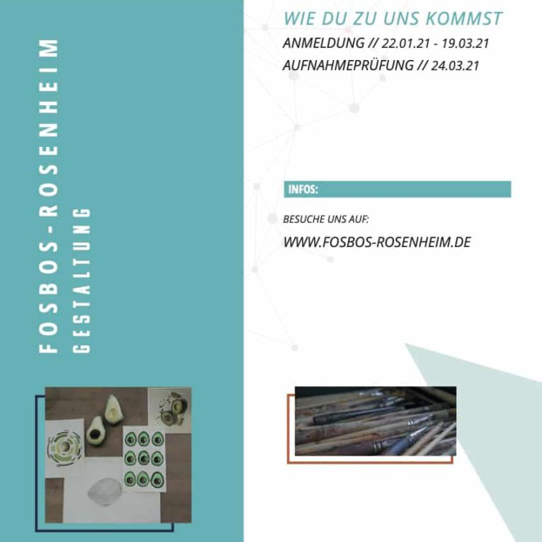 Read more about the article FOSBOS-Rosenheim Gestaltung
